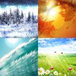الفصول الاربعة بالصور , اجمل صور طبيعية لتغيرات الفصول