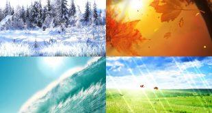 صورة الفصول الاربعة بالصور , اجمل صور طبيعية لتغيرات الفصول