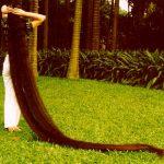 صور اطول شعر في العالم , شاهد شعور طويلة بدرجة لا تصدق