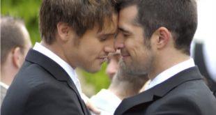 صورة زواج رجل برجل بالصور , شاهد صور زواج الرجال فى بلاد الغرب