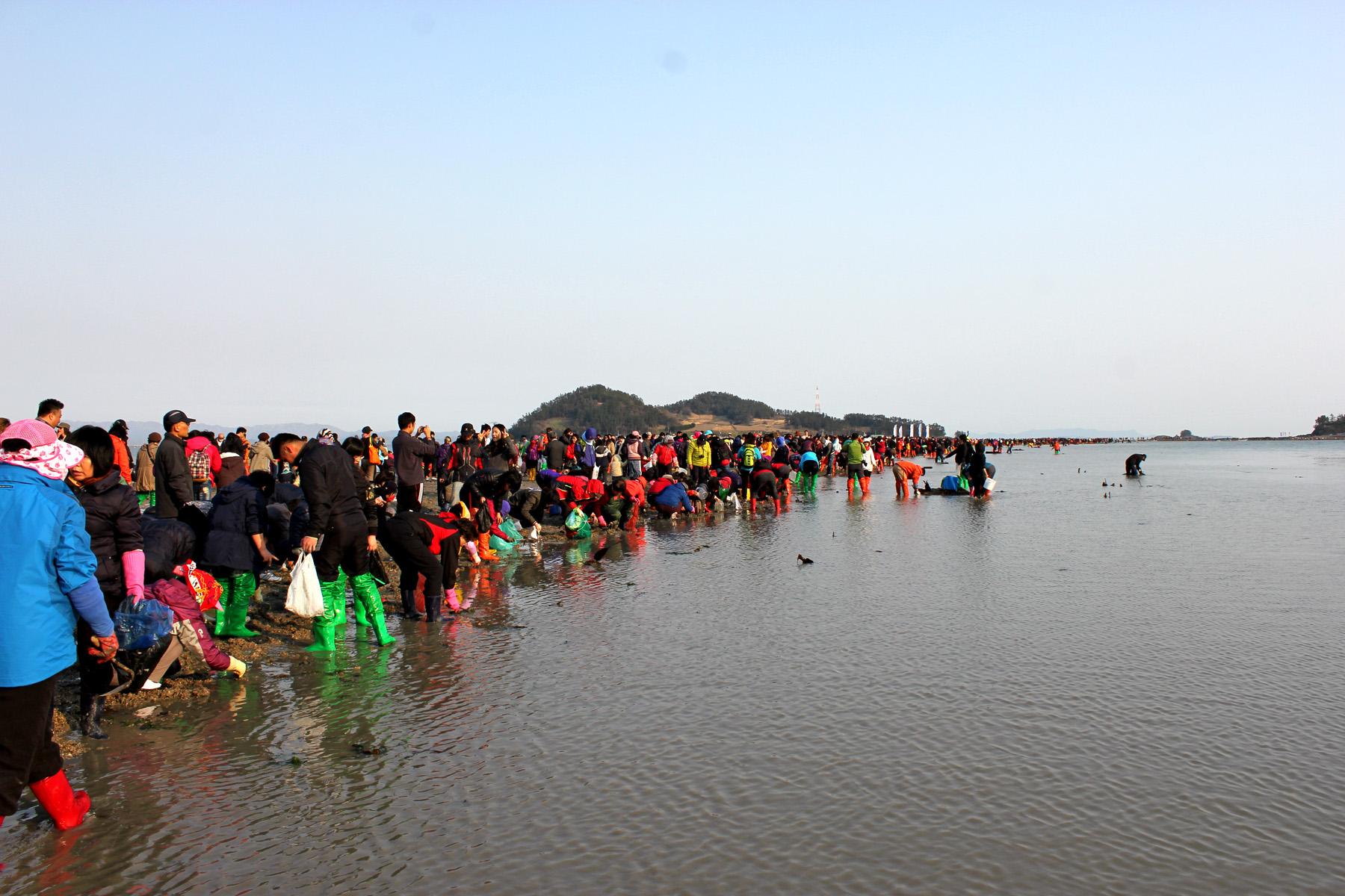 صورة مهرجان انشقاق البحر , طريق جيندو البحري