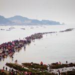 مهرجان انشقاق البحر , طريق جيندو البحري