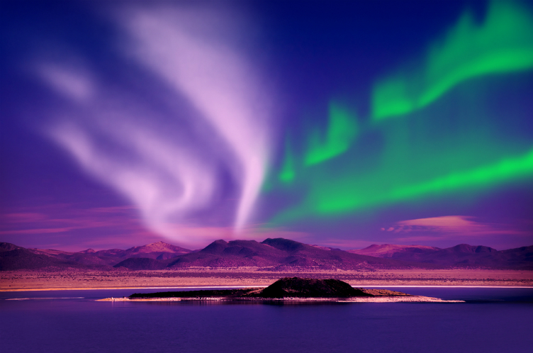 صورة صور الشفق القطبي , صور مبهرة لمنظر الشفق القطبى