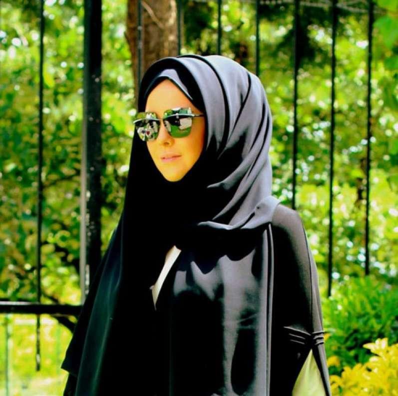 صورة صور لبنات جميلة محجبة بالنضارة , حجابي سر جمالي