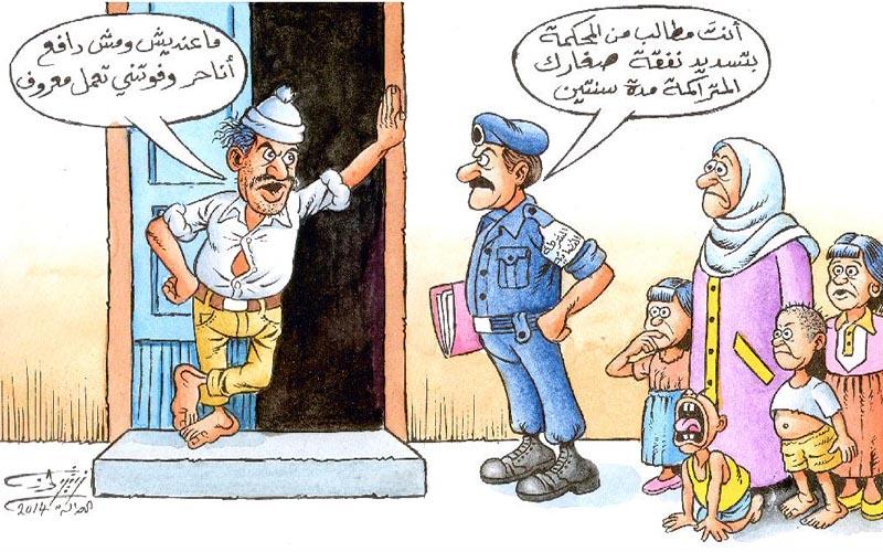 بالصور صور كاريكاتيرات ليبية , رسومات سياسية ساخرة 10538 3