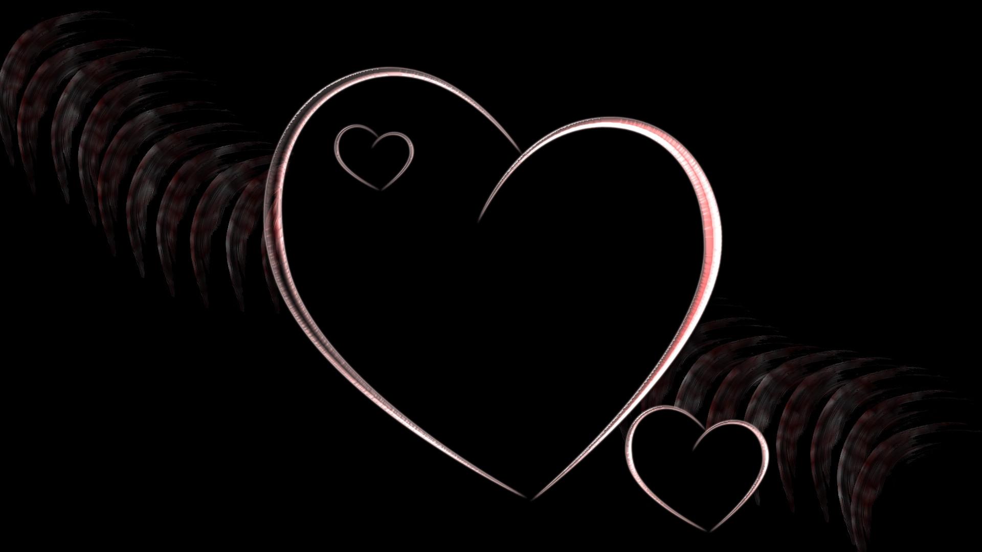 صوره صور قلوب سوداء , اشكال قلوب حزينة باللون الاسود