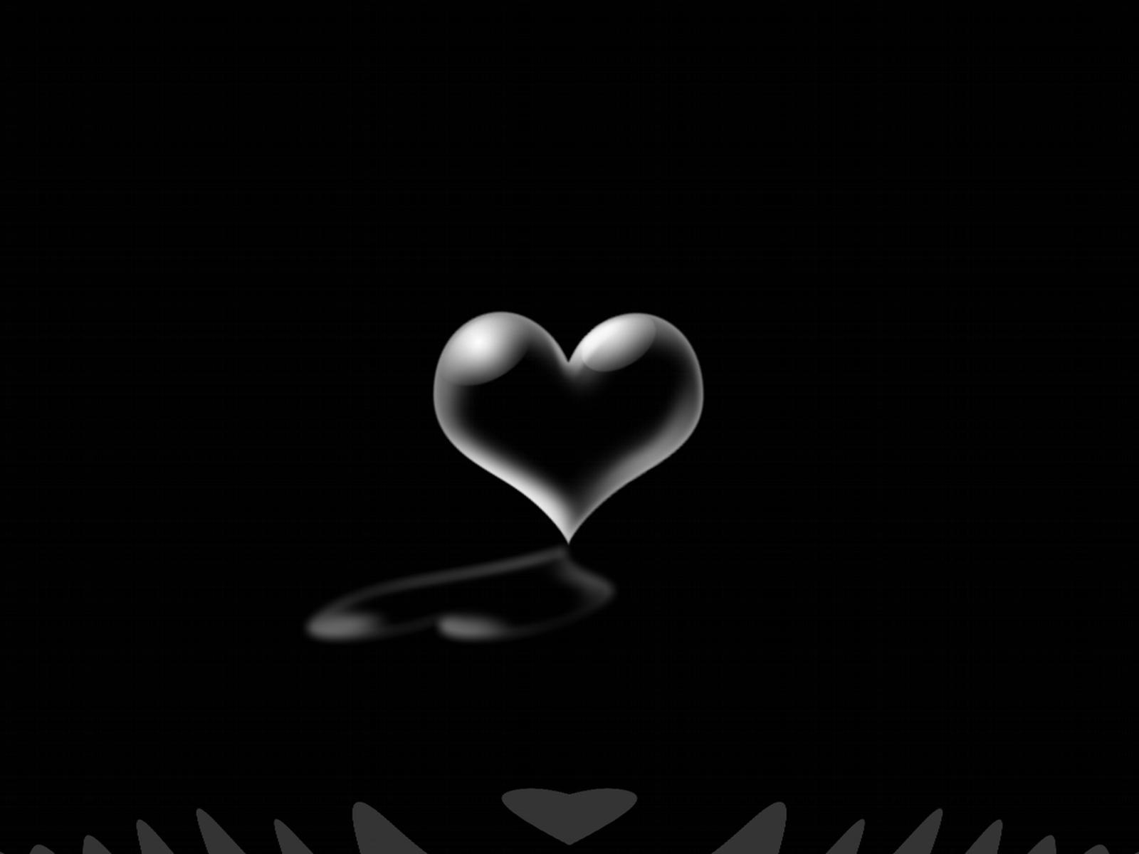 صورة صور قلوب سوداء , اشكال قلوب حزينة باللون الاسود 703