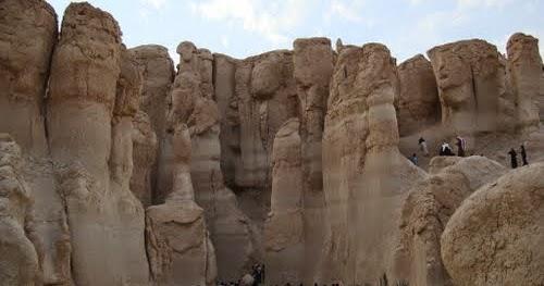 جبل القارة بالاحساء , وسحر الكهوف الموجوده بداخله