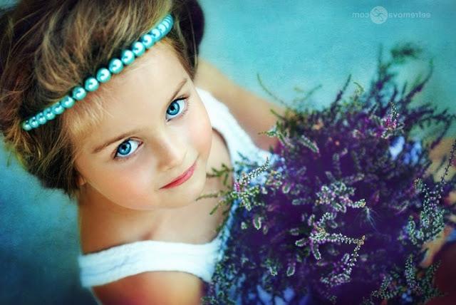 صوره صور اجمل بنت بالعالم , شاهد مدي جمال الفتاه