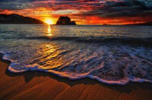 صورة صور من ذهب , مياة البحر راحة واسترخاء