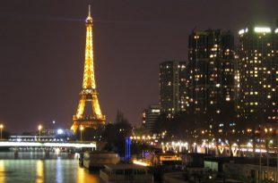 صوره شوارع باريس في الليل , اجمل لحظات من الهدوء