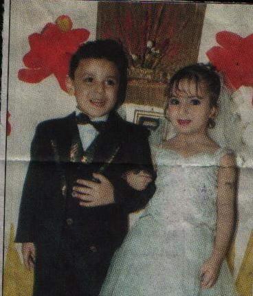 صوره اصغر زوجين في العالم , بشكل لا يقبله عقل