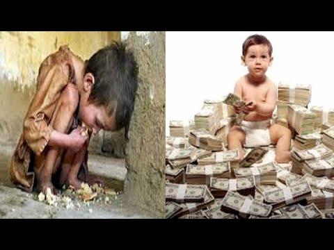صوره الفرق بين الغني والفقير , يوجد اختلافات كثيرة بينهم