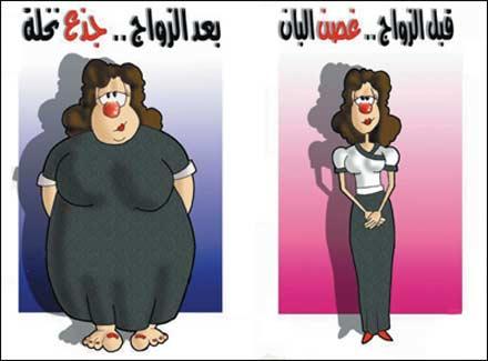 صورة كاريكاتير مضحك عن الزواج , تعالو نشوف الصور المختلفة