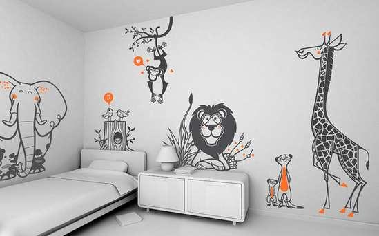 بالصور رسم ع الجدران , تعالو نشوف احلي الصور 11136 6