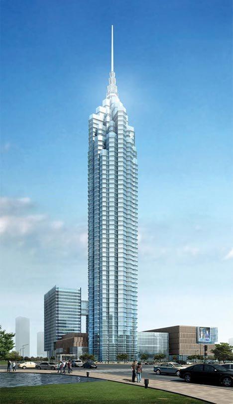 بالصور اطول برج بالعالم , اناقه البناء وبراعه التشييد 11151 4