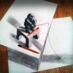صور رسم ثلاثي الابعاد , فن وابداع