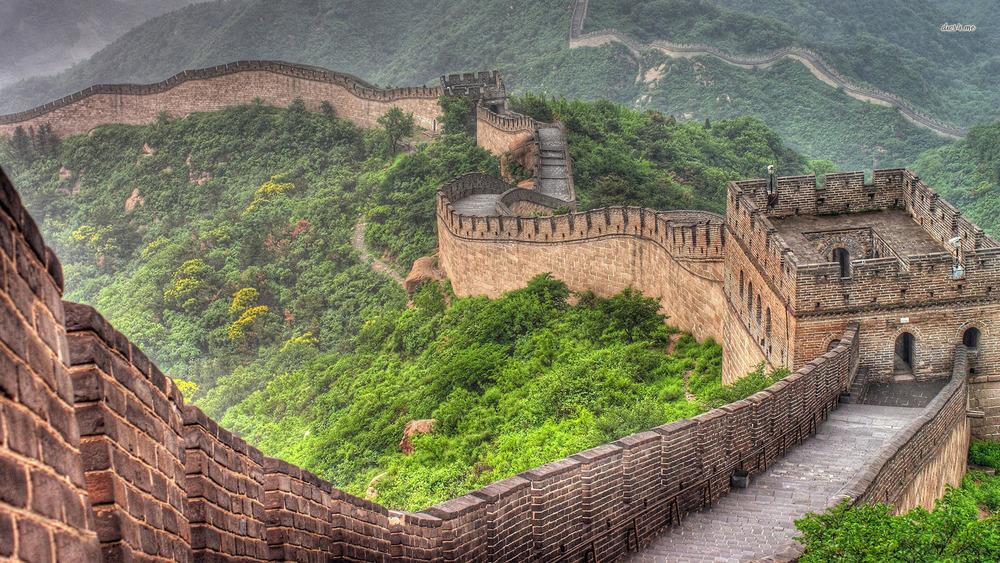 صورة صور سور الصين العظيم , احد عجائب الدنيا السبع