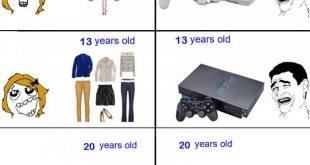 صور الفرق بين الولد والبنت , كوميكس مضحكة للفيس بوك