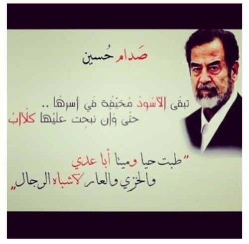 صوره صور لصدام حسين , الرئيس الشجاع الذي ضحى بحياته