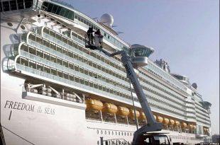 صورة اكبر سفينه في العالم , سفينة ضخمة وهمية
