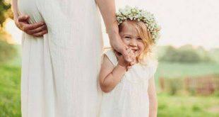 صور صور بنت مع امها , صور جميلة
