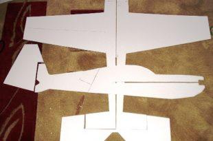 صورة طريقة صنع طائرة , بخامات متواجدة في منزلك