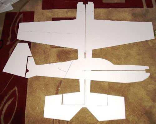 صور طريقة صنع طائرة , بخامات متواجدة في منزلك