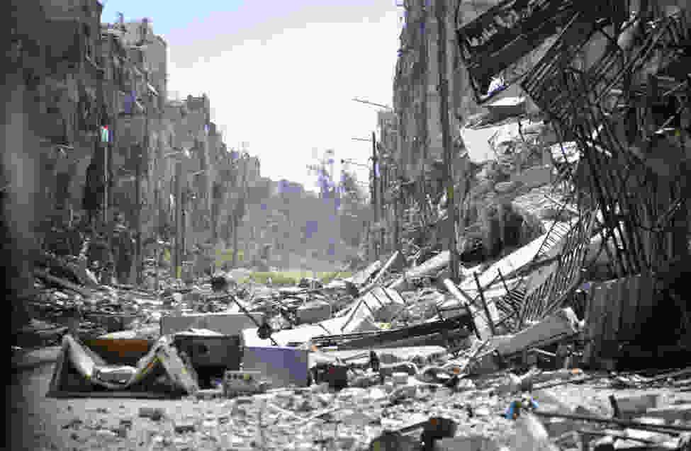 بالصور صور عن الحرب و الناس , اصعب احساس هو الدمار وتشريد الاطفال 14485 4