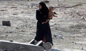 صوره صور عن الحرب و الناس , اصعب احساس هو الدمار وتشريد الاطفال
