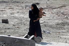 صورة صور عن الحرب و الناس , اصعب احساس هو الدمار وتشريد الاطفال