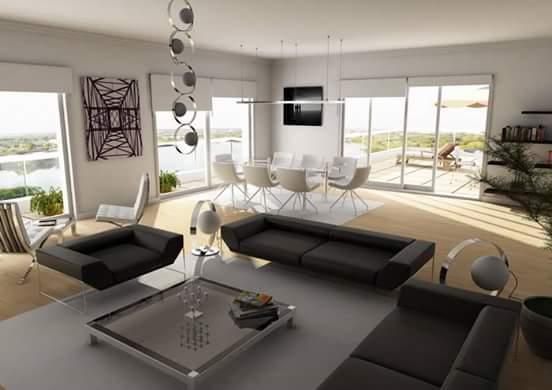 صوره صور ديكورات منازل , تصميمات لغرف نوم وريسبشن مودرن