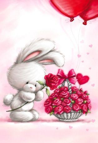 بالصور صور باللون الاحمر , قلوب ودبديب وزهور جميلة جدا 10661 6