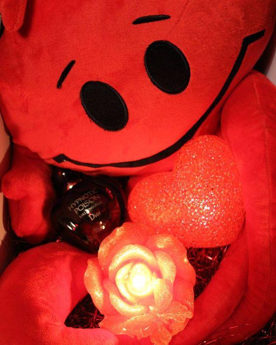 بالصور صور باللون الاحمر , قلوب ودبديب وزهور جميلة جدا 10661 7