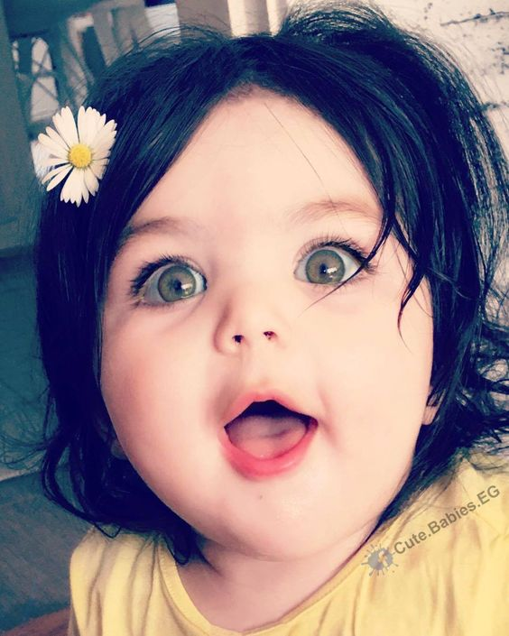 بالصور صور اطفال كيوت , اجمل بنوتة قمر الله اكبر 10669 5