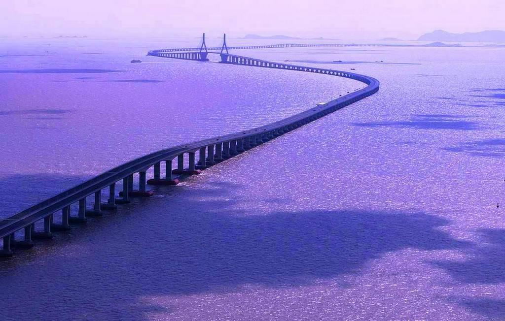 صوره اكبر جسر في العالم , صور لجسر دانيانغ كونشان الكبير بالصين