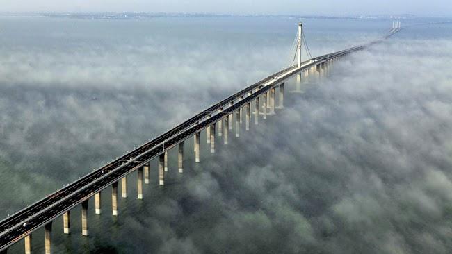 بالصور اكبر جسر في العالم , صور لجسر دانيانغ كونشان الكبير بالصين 10674 3