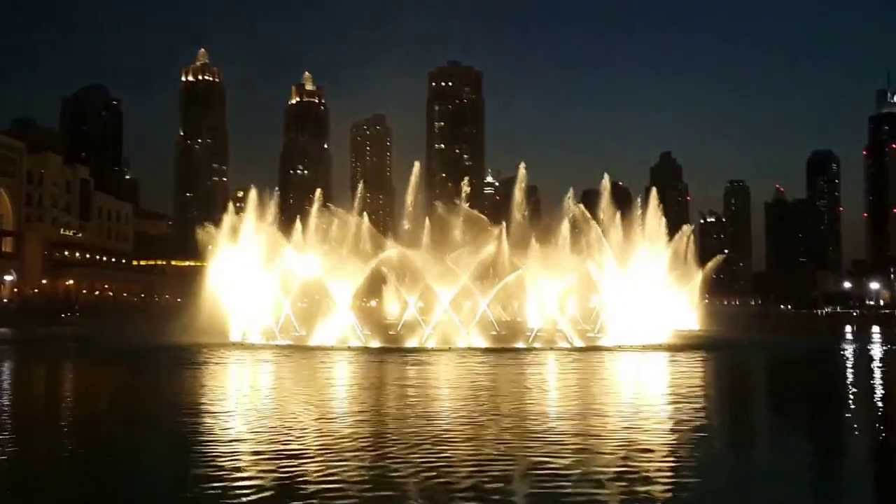 بالصور النافورة الراقصة في دبي , اجمل مناظر وحركات النافورة 10681 4