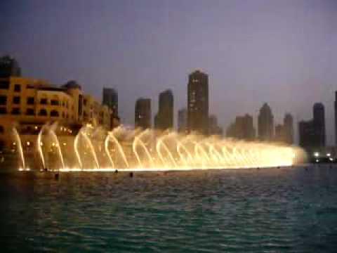 بالصور النافورة الراقصة في دبي , اجمل مناظر وحركات النافورة 10681 7