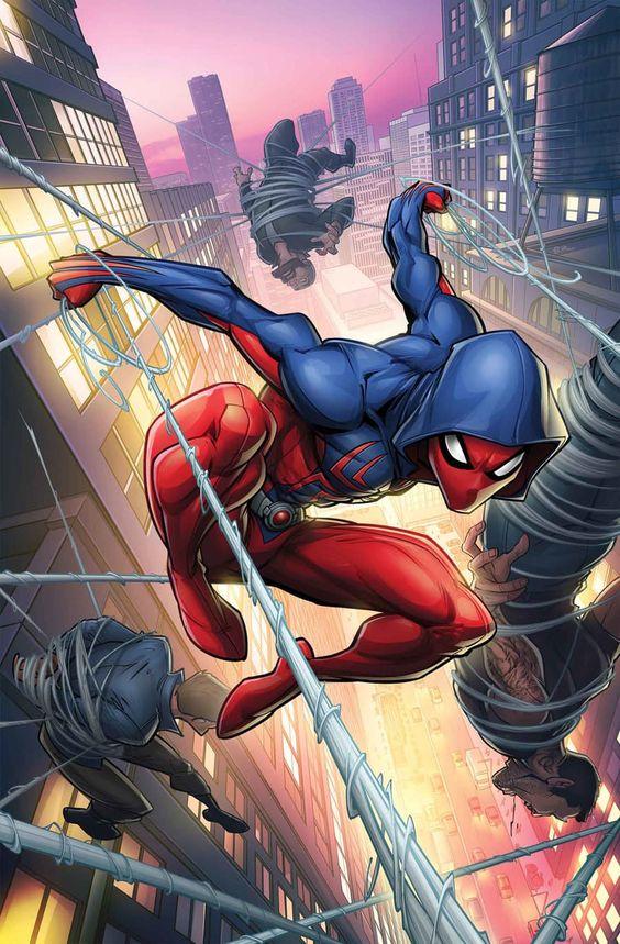 بالصور سبايدر مان الحقيقي , شخصية الانمي للفتى العنكبوت 10682 1