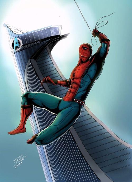 بالصور سبايدر مان الحقيقي , شخصية الانمي للفتى العنكبوت 10682 2