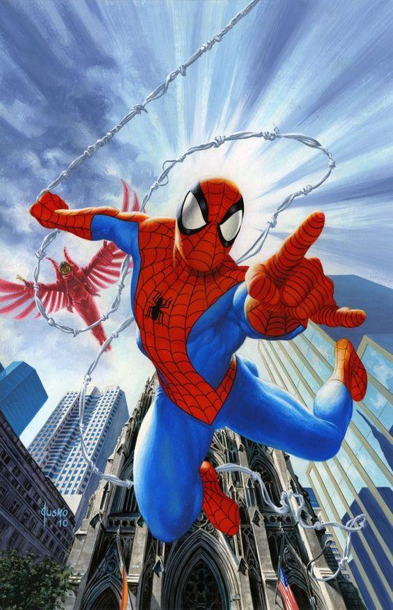 بالصور سبايدر مان الحقيقي , شخصية الانمي للفتى العنكبوت 10682 3
