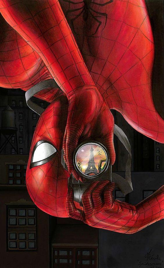بالصور سبايدر مان الحقيقي , شخصية الانمي للفتى العنكبوت 10682 5