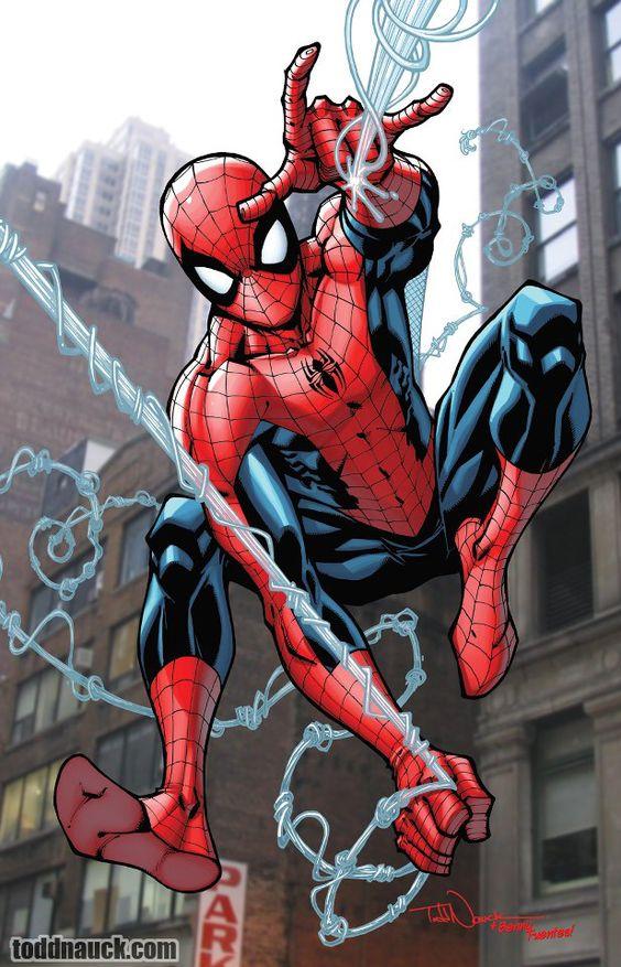بالصور سبايدر مان الحقيقي , شخصية الانمي للفتى العنكبوت 10682 9