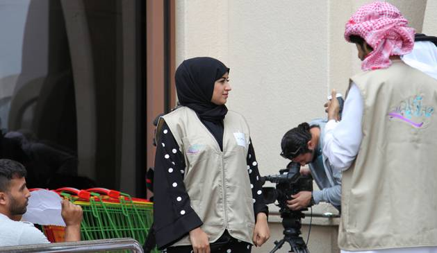 بالصور مما راق لي , صور للمذيعة مشاعل التميمي في برنامجها المجتمعي 10707 6