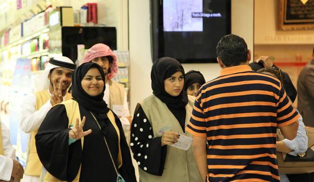 بالصور مما راق لي , صور للمذيعة مشاعل التميمي في برنامجها المجتمعي 10707 8