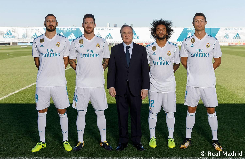 صوره صور ريال مدريد 2018 , اجدد خلفيات لنادي في الزي الجديد