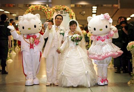 بالصور الزواج في اليابان , اجمل عروسة وعريس باليابان 10741 5