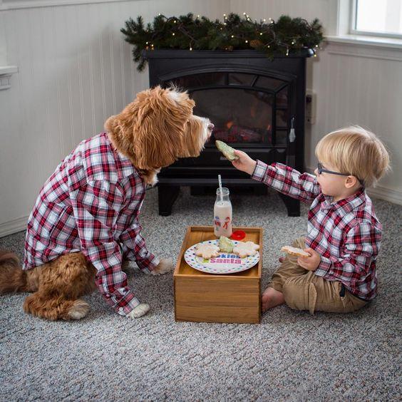 بالصور صور بدون تعليق , اطفال يعشقون الكلاب 10784 7