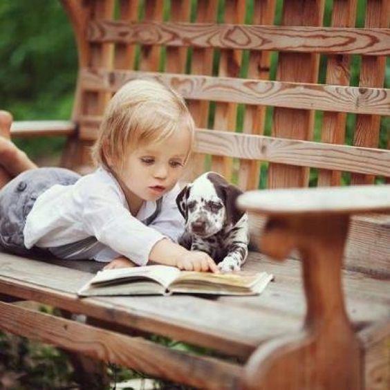 بالصور صور بدون تعليق , اطفال يعشقون الكلاب 10784 8